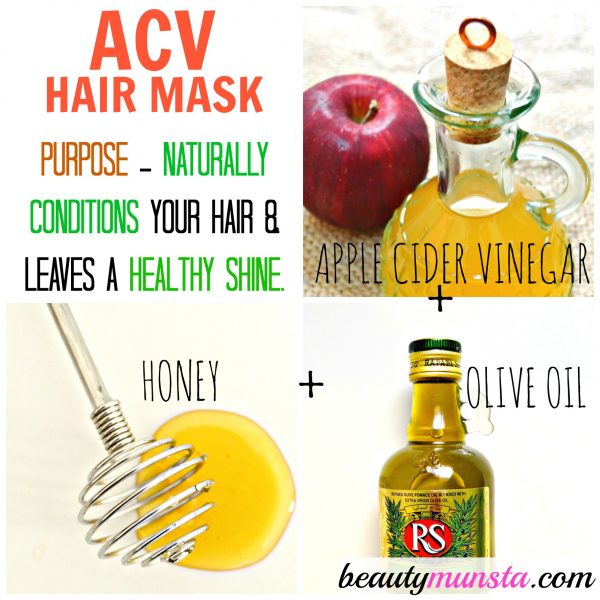 ACV Honey & Olive Oil Hair Mask