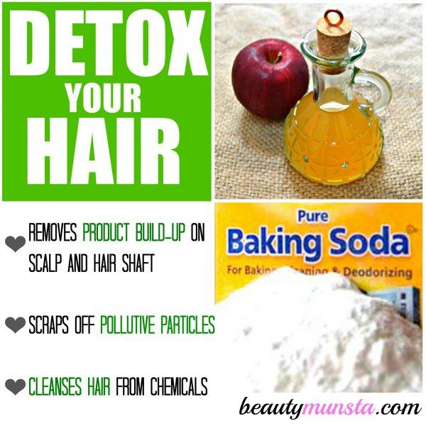 ACV Hair Detox