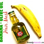 Get Luscious Locks: Banana Olive Oil Hair Mask for Damaged Hair