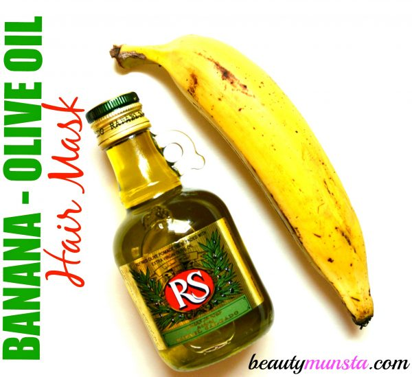 This Banana Olive Oil Hair Mask for Damaged Hair adds life to dull and tired locks, giving them a healthy sheen!