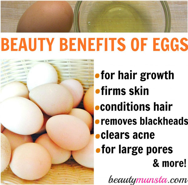 In this article, let's discover 12 beauty benefits of eggs for skin, hair and more!