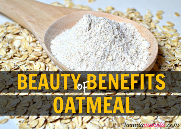 This breakfast favorite is not just for breakfast anymore - discover 10 beauty benefits of oatmeal for your skin and hair!