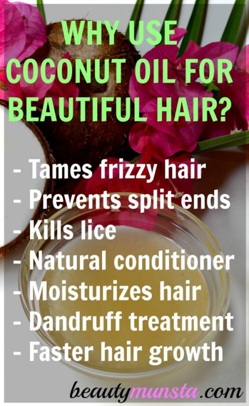Why use coconut oil for hair?