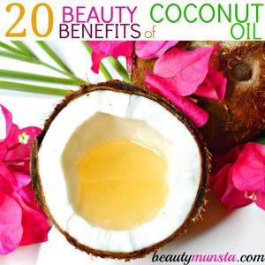 Top 20 Beauty Benefits of Coconut Oil