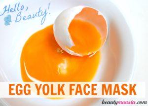 Nourishing Egg Yolk Face Mask for Beautiful Skin