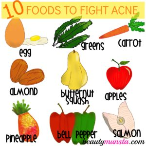 Top 10 Foods Good for Acne Prone Skin