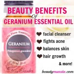 10 Beauty Benefits of Geranium Essential Oil