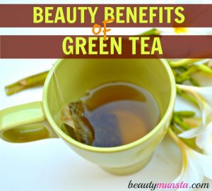 15 Beauty Benefits of Green Tea