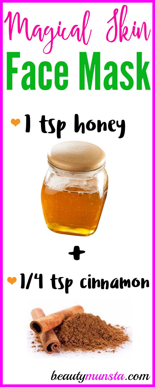 Honey Cinnamon Face Mask For Beautiful Toned Skin Beautymunsta Free Natural Beauty Hacks And More