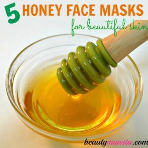 Top 5 Honey Face Masks  for Acne