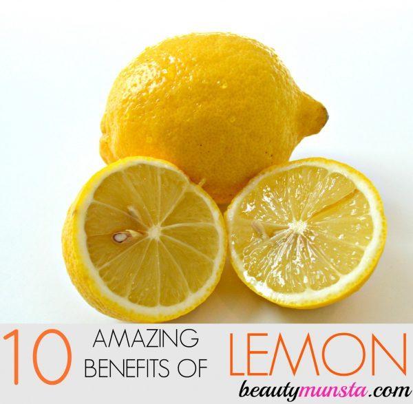 Benefits of Lemon for Skin