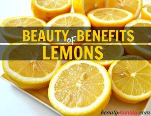 20 Beauty Benefits of Lemon for Skin, Hair & More
