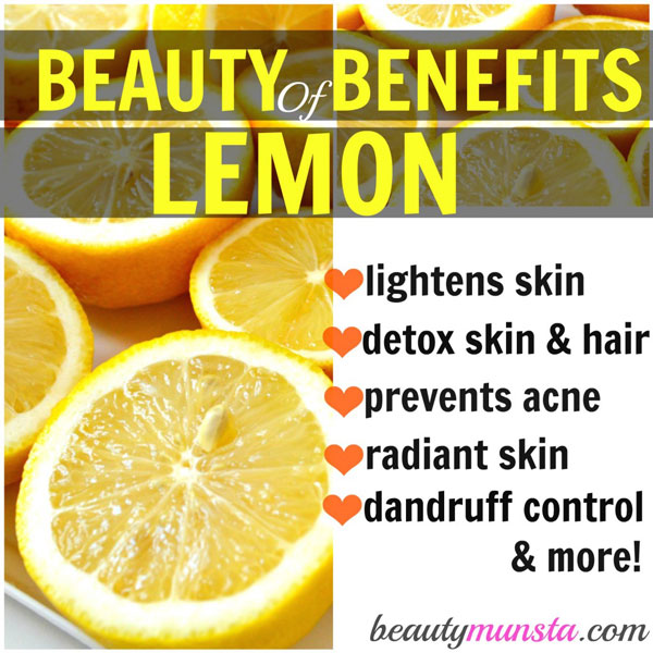 Drinking Lemon Juice For Skin Lightening