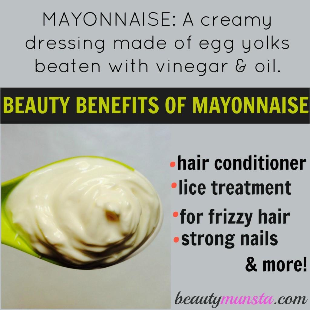 does mayonnaise kill lice