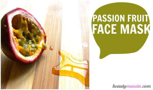 Don't passion fruits have the best name in the world? They make for a truly tropical face mask with all the goodness of vitamin C and other fruit acids.