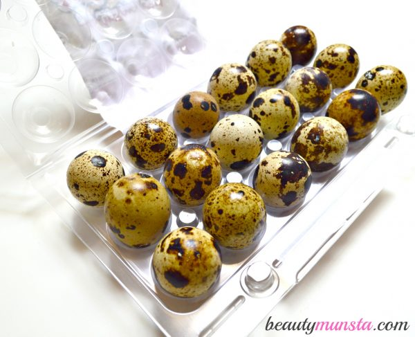 beauty benefits of quail eggs