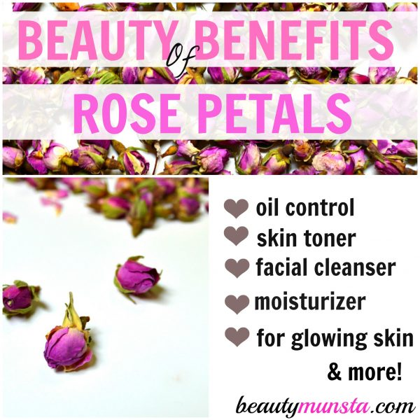 The beauty benefits of rose petals are truly amazing. Many expensive products have rose petal extracts in them, yet we can enjoy them at home with dry roses and incorporate them in our beauty routines.