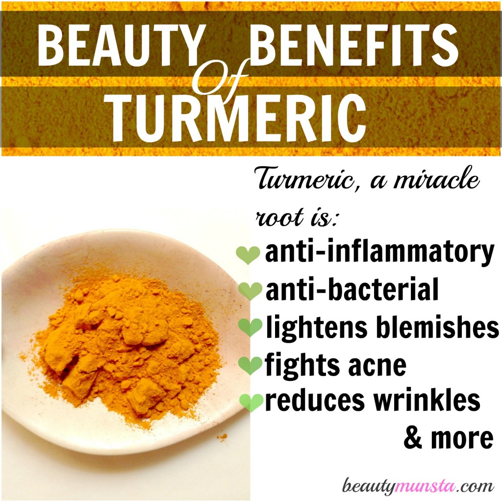 turmeric beauty benefits