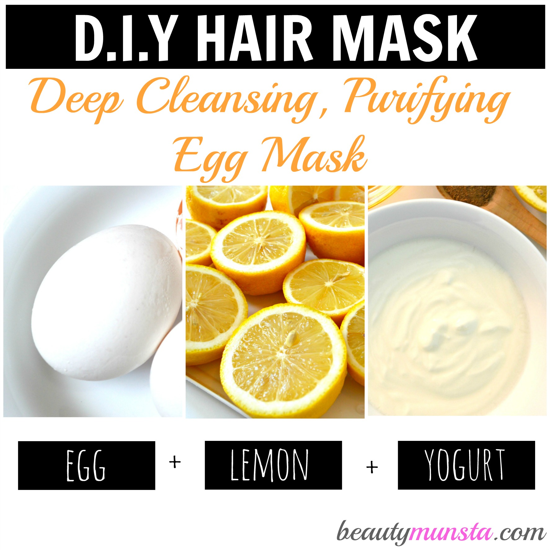 3 Egg Hair Mask Recipes for Gorgeous Hair - beautymunsta