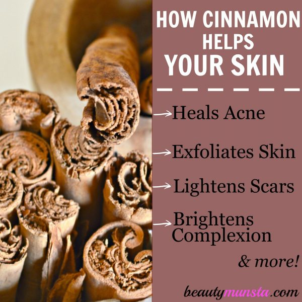 The beauty benefits of cinnamon are amazing, so never underestimate this handy spice!