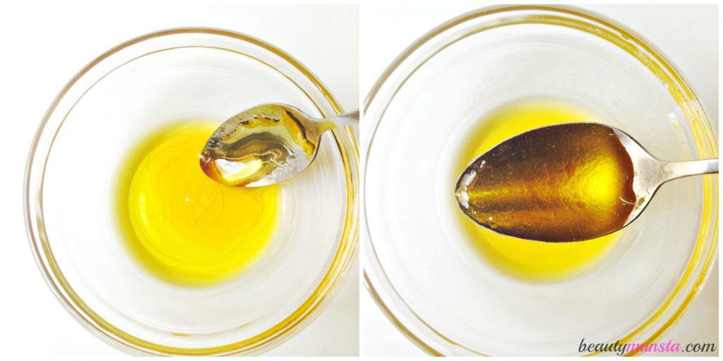 honey-olive-oil-mix