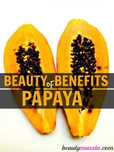 10 Beauty Benefits of Papaya for Skin & Hair