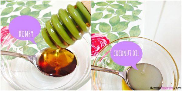 coconut oil honey 2