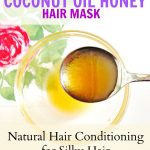 Coconut Oil Honey Hair Mask | Deep Conditioning for Silky Hair