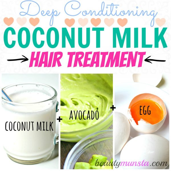 3 Coconut Milk Mask Recipes for Dry Hair