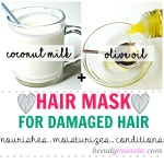 Coconut Milk Hair Mask Recipes for Beautiful Hair