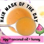 how to make egg white hair gel
