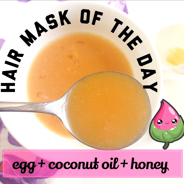 How to do a weekly egg treatment for hair beautymunsta must try weekly hair conditioning treatment egg hair mask with coconut and honey solutioingenieria Images