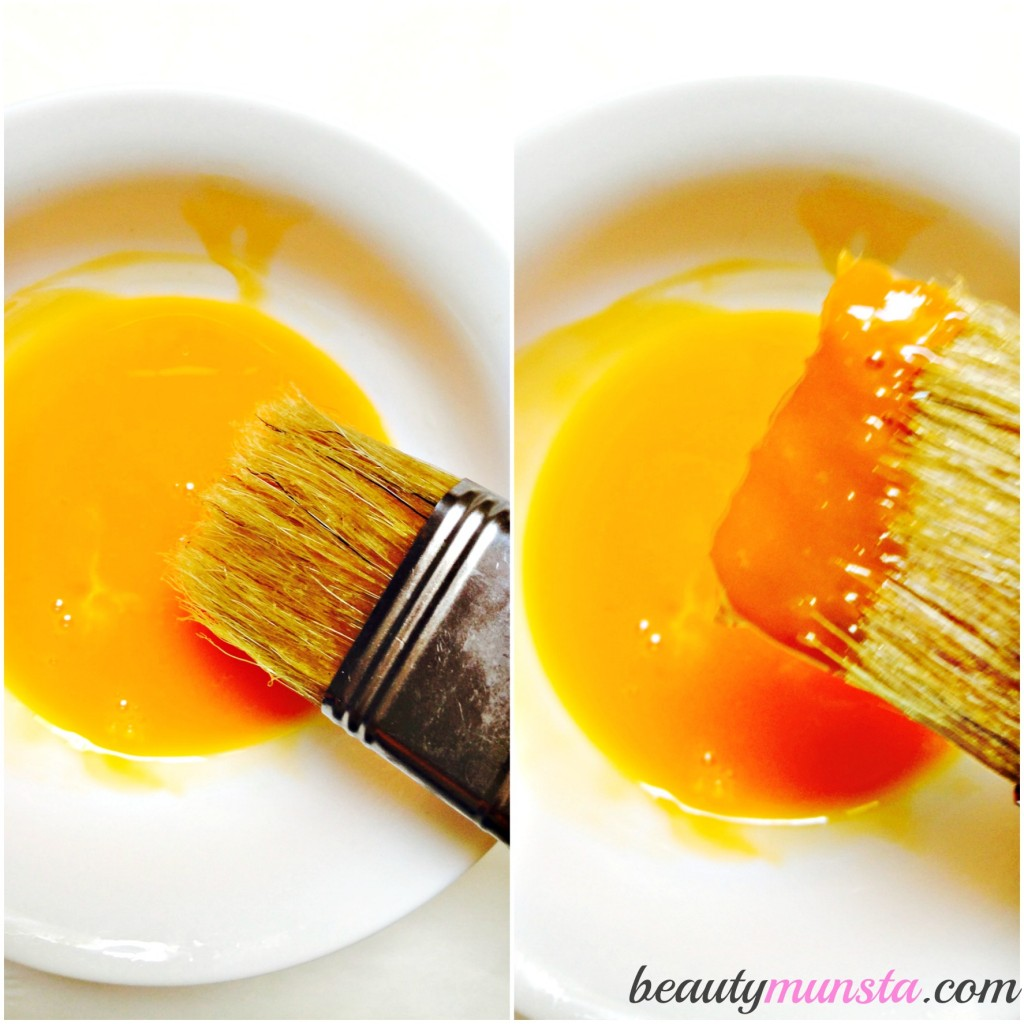 egg yolk final mask