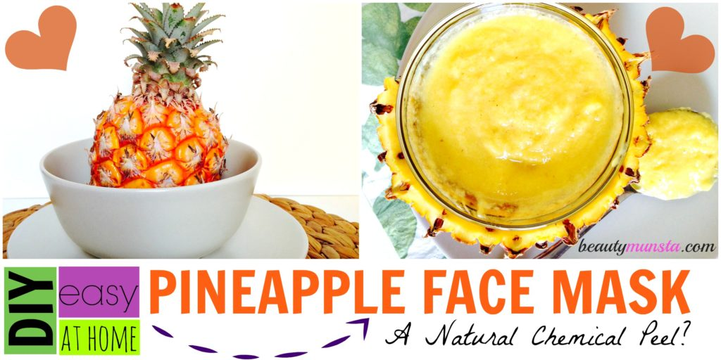 how to make fruit facial in home