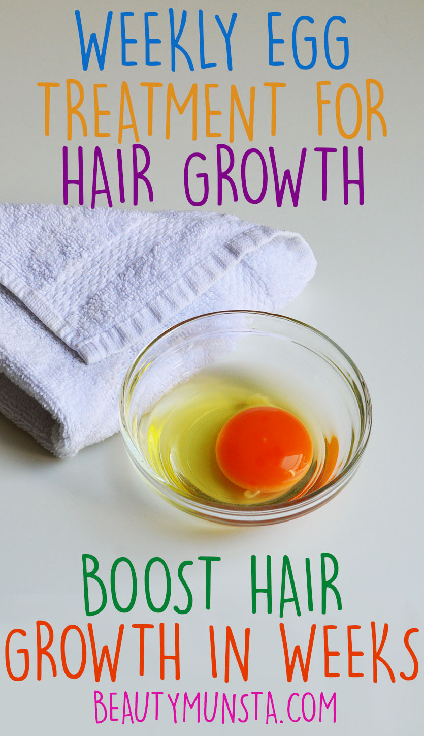 weekly egg treatment for hair growth