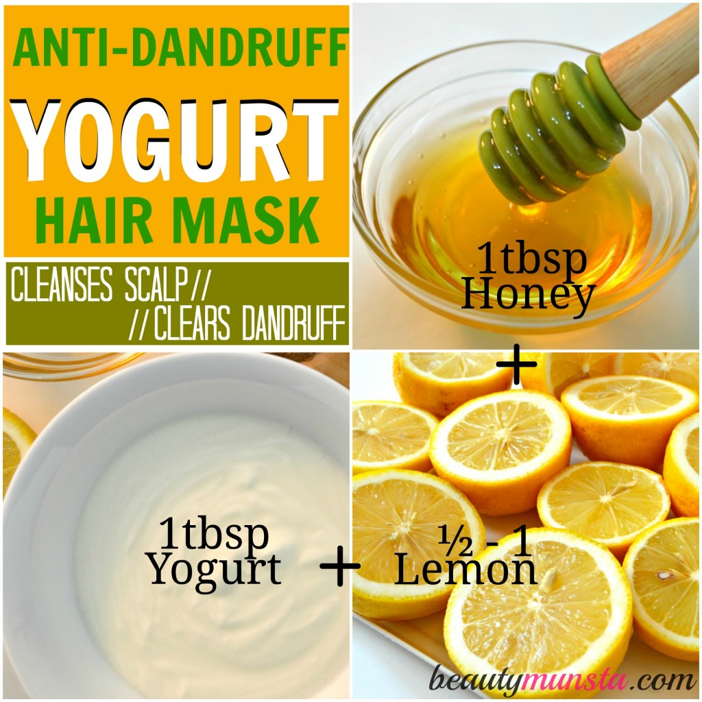 Yogurt Hair Mask For Natural Hair