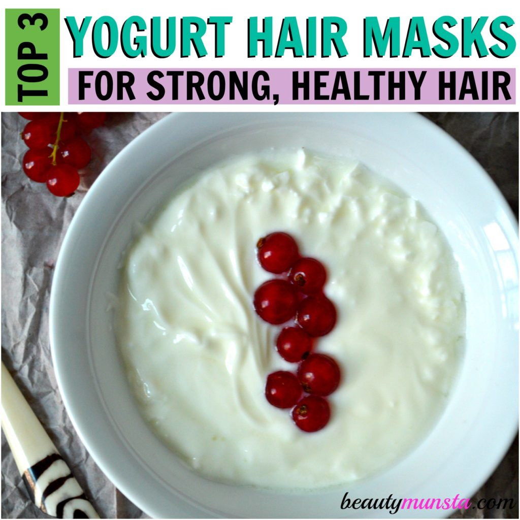 yogurt hair masks for beautiful hair