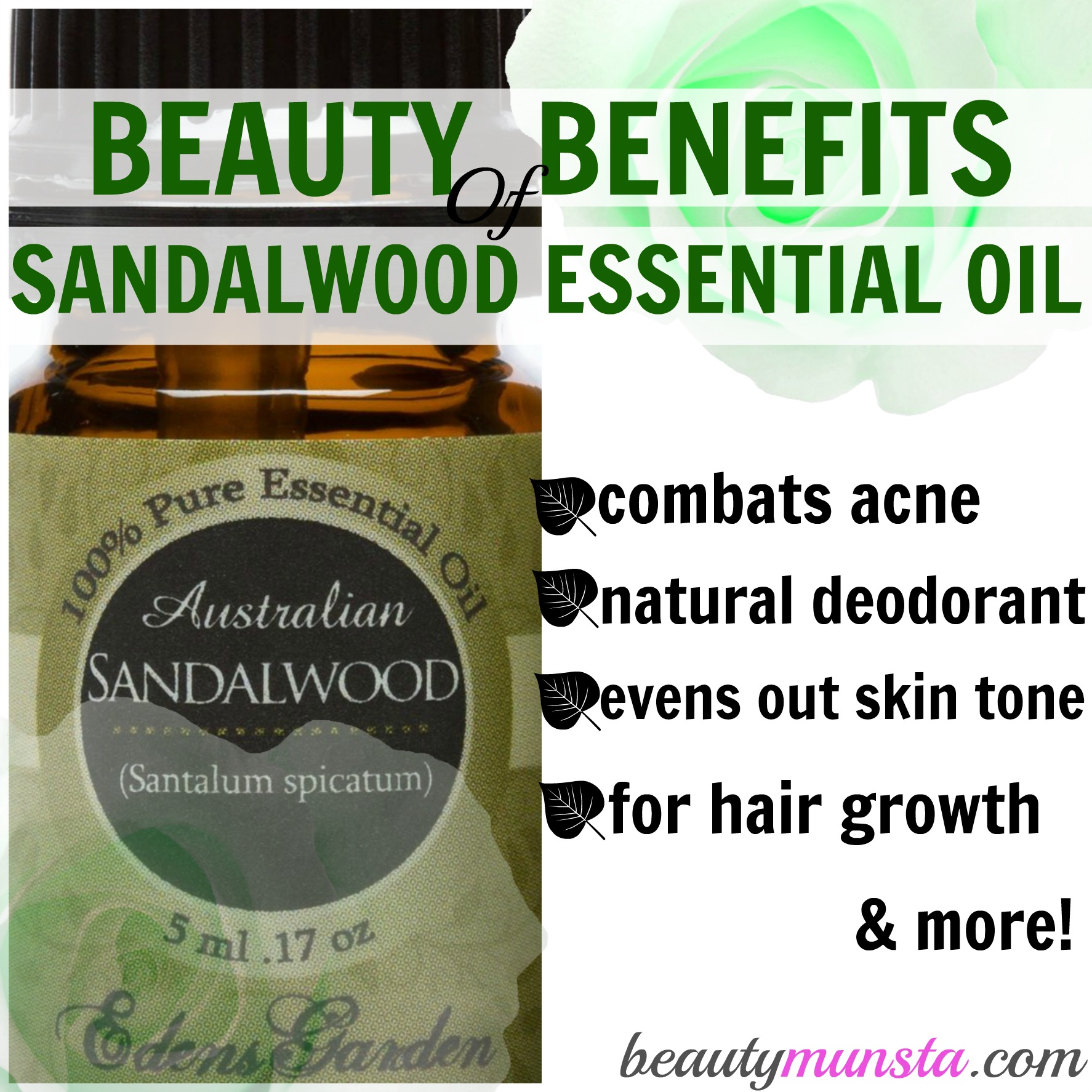 10 Beauty Benefits of Sandalwood Essential Oil for Skin