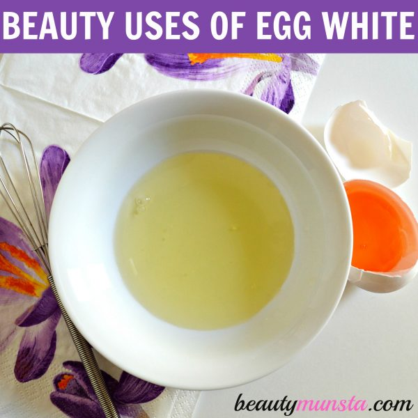 beauty benefits of egg white