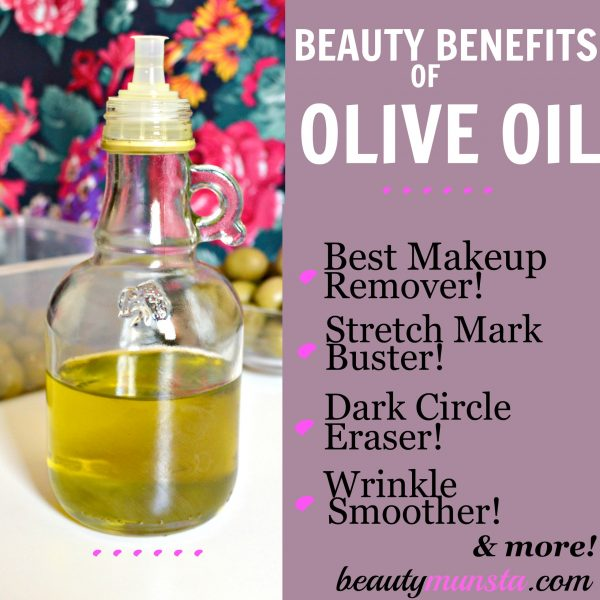 Here are just some of the amazing benefits of olive oil for hair, skin and beauty!