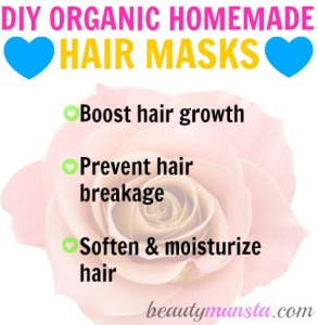 DIY Organic and Natural Homemade Hair Mask Recipes