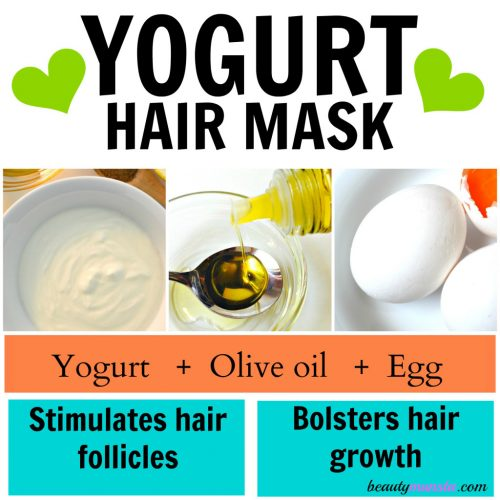 Nourish your hair with this yogurt, olive oil egg hair mask!