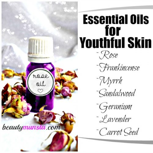Use these essential oils in your skin care routine to protect skin from free radicals & delay wrinkles