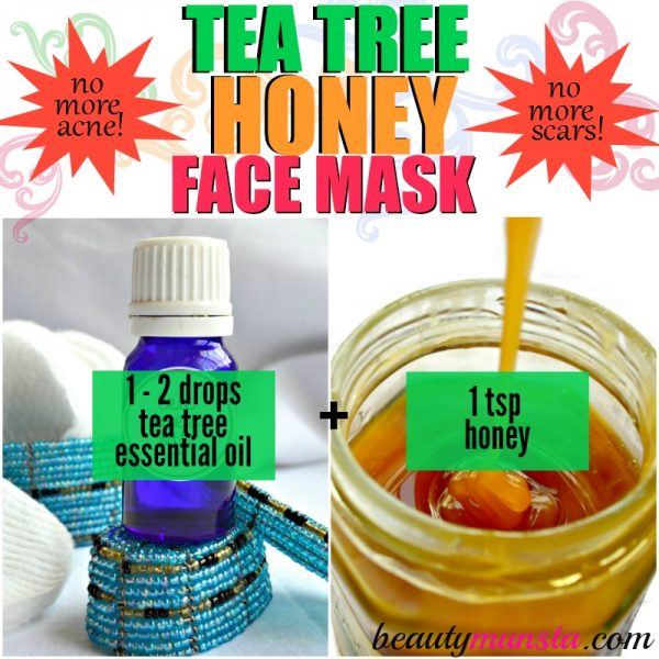Healing Acne: Tea Tree Oil Face Mask Recipes - beautymunsta