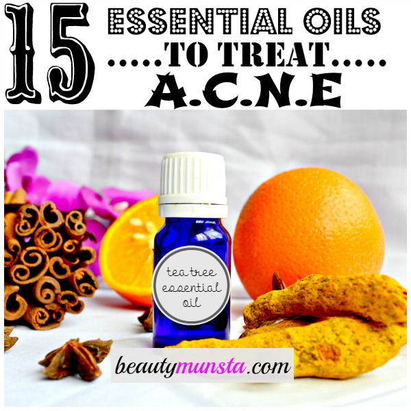 Treat Acne at home with essential oils! Get to know the best essential oils for acne