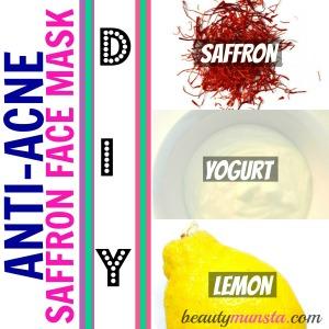 Homemade Saffron Face Mask Recipes | Royal Facial Treatment