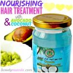 DIY Avocado and Coconut Oil Hair Mask | Nourish & Repair