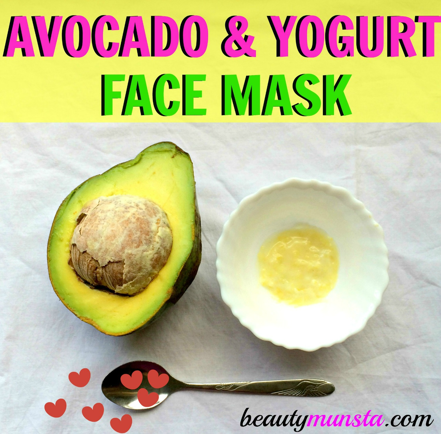 How do you make avocado face packs and face mask at home