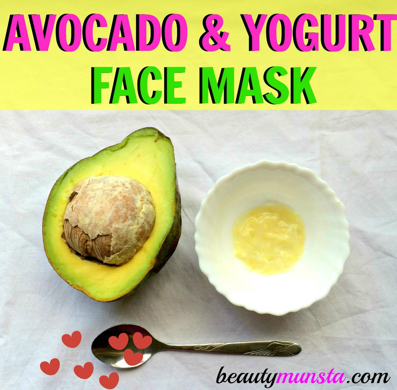Deep Hydrating Avocado and Yogurt Face Mask Recipe ...