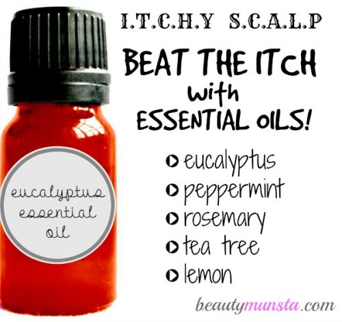 Disinfect & instantly soothe an itchy scalp with these powerful essential oils!
